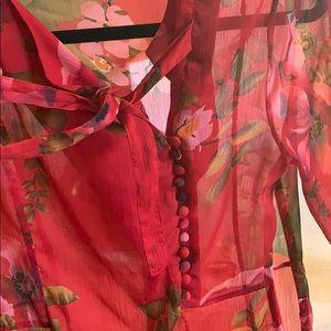ASOS Dresses - Beautiful red floral dress